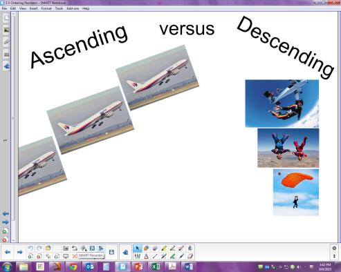 ascending vs descending